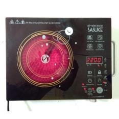 Bếp hồng ngoại Cảm ứng Sasuke 2 vòng nhiệt Bảo Hành 12Tháng