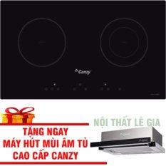 Hình ảnh Bếp Điện Từ Canzy CZ 3002GS (đổi mẫu sang Canzy 06H) Tặng Máy Hút Mùi Âm Tủ Canzy Cao Cấp