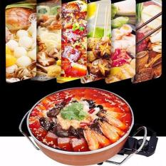 Hình ảnh Bep Ga, Nồi lẩu - nướng - Hầm - Hấp OSAKA NA123, bếp nướng điện bbq - Mua Nồi lẩu nướng đa năng osaka Giá Tốt | Lazada Việt Nam