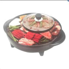 Hình ảnh Bếp lẩu kiêm nướng điện đa năng