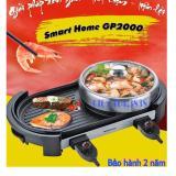 Chiết Khấu Bếp Lẩu Nướng Điẹn Kem Nồi Smart Home