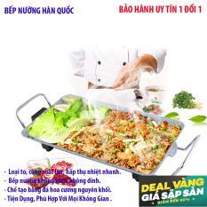 Hình ảnh Bep nương , Bep nuong bang ga - Bếp nướng đa năng - Hàng nhập khẩu nguyên chiếc, giá ưu đãi khi mua tại Lazada Mẫu 79 - Bh uy tín 1 đổi 1 bởi Earth Store
