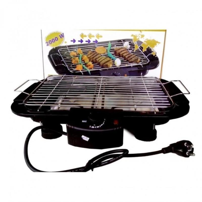 Bảng giá Bếp nướng điện cao cấp không khói Electric barbecue grill 2000W HH01 Điện máy Pico