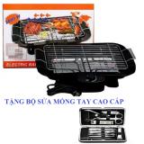 Bán Bếp Nướng Điện Khong Khoi Electric Barbecue Grill 2000W Tặng Bộ Lam Mong Tay Cao Cấp Trực Tuyến Hà Nội