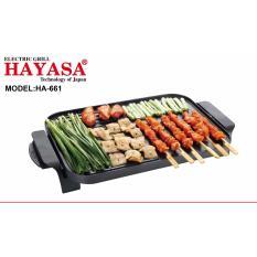 Bảng giá Bếp nướng điện Việt Nam cao cấp Hayasa HA-661 - Hãng phân phối chính thức Điện máy Pico