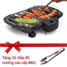 Hình ảnh Bếp nướng ELECTRIC BBQ GRILL - Tiện dụng, Chất lượng cao, Giá hợp lý (Tặng kèm 01 gắp đồ nướng BBQ)