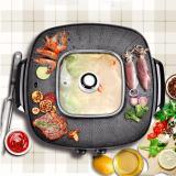 Giá Bán Bếp Nướng Lẩu 2 Trong 1 Cao Cấp Go Master Mlk 06 Oem Nguyên