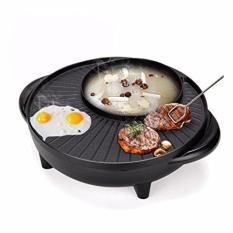 Bếp nướng tròn kèm nồi lẩu Inox GR-36