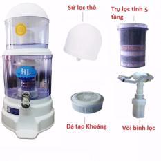 Hình ảnh Bình lọc nước uống trực tiếp cao cấp Hưng Long One Mom 15L
