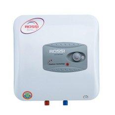 Bình nước nóng gián tiếp ROSSI R30L Ti - 2500W (Trắng)