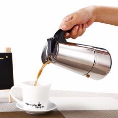 Moka pot 450ml Bình pha cafe Moka Express  Bình cafe Moka Bình pha cafe kiểu Ý