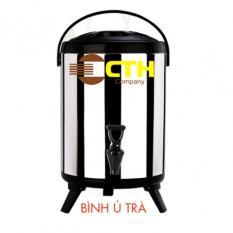 Hình ảnh Bình giữ nhiệt bình ủ trà 8L Inox