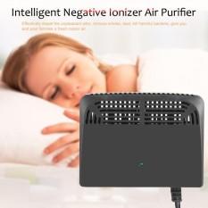 Hình ảnh Black Intelligent Negative Ion Anion Generator Room Car Ionizer Air Purifier - intl
