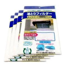 Hình ảnh Bộ 2 Tấm Lót Lọc Dầu Mỡ Chuyên Dụng Cho Máy Hút Mùi + Tặng dụng cụ lấy ráy tai có đèn