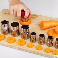 Hình ảnh Bộ dụng cụ cắt tỉa Hoa Quả tạo hình Bánh đa năng 8 món