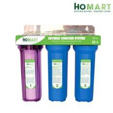 Hình ảnh Bộ lọc nước sinh hoạt 3 cấp HOMART 30C3