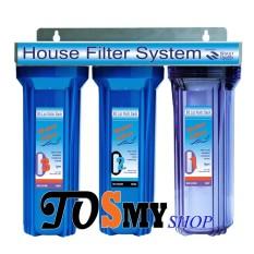 Hình ảnh Bộ lọc nước sinh hoạt thông dụng 3 cấp lọc 10 inch