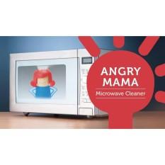 Búp Bê Angry Mama Phun Hơi Nước Vệ Sinh Lò Vi Sóng - Màu Xanh Tóc Đỏ