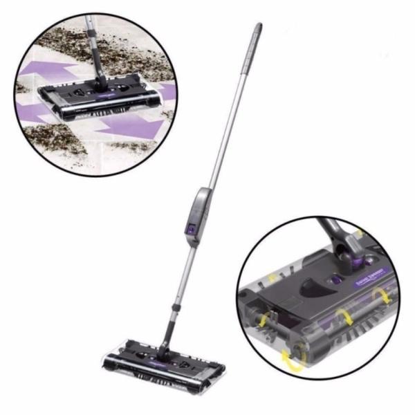 Chổi điện không dây Cordless Swivel Sweeper G9(Đen)