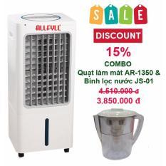 Bảng giá Combo máy làm mát Allfyll Thái Lan AR-1350 + bình lọc nước mini JS-01