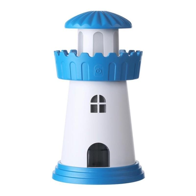 Bảng giá Creative Lighthouse Shape USB Home Air Humidifier Large Mist Maker(Blue) - intl