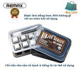 Giá Bán Đa Kim Loại Lam Lạnh Khong Tan 8 Vien Ice Cubes Remax Bạc Nhãn Hiệu Remax
