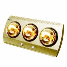 Đèn sưởi Kottmann 3 bóng vàng K3B-G