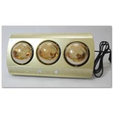 Đèn sưởi nhà tắm Kottmann 3 bóng K3B-G màu vàng