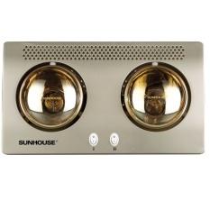 Đèn sưởi nhà tắm Sunhouse SHD3802 2 bóng (Vàng)