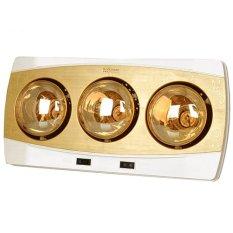 Đèn Sưởi Phòng Tắm Kottmann 3 Bóng K3B-H