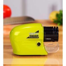 Hình ảnh Dụng cụ mài dao & kéo đa năng dùng pin Swifty Sharp để bàn tiện lợi ( xanh lá )