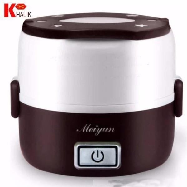 Hộp cơm cắm điện hâm nóng, nấu cơm, luộc, hấp, hâm sữa 2 tầng Meiyun