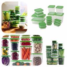 Hình ảnh Hộp đựng thực phẩm 17 chi tiết tiện dụng