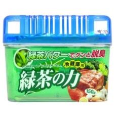 Hình ảnh Hộp khử mùi tủ lạnh hương trà xanh (Xanh) hàng nhập khẩu Nhật Bản