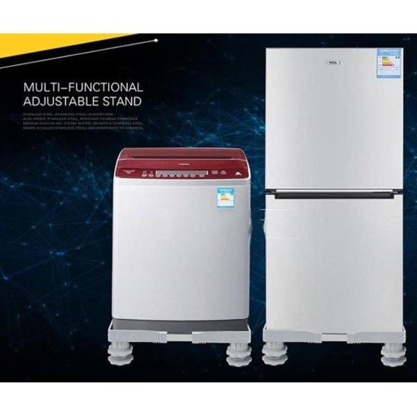 Kệ máy giặt, tủ lạnh tiện lợi điều chỉnh được kích thước 2 chiều