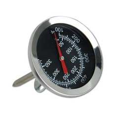Hình ảnh Kitchen Cooking Oven Thermometer Stainless Steel Probe Thermometer Food Meat Gauge 350°C - intl