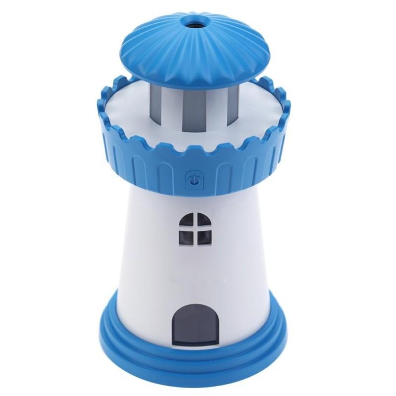 Bảng giá Ngọn hải đăng Mini USB Siêu Âm Thanh Nhà Bàn Văn Phòng Máy Lọc Không Khí Máy Phun Sương Tạo Độ Ẩm (Màu Xanh Dương)-quốc tế
