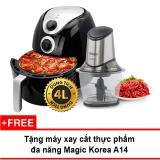 Giá Bán Lo Nướng Chan Khong Magic Korea A78 4L Đen Tặng May Xay Thực Phẩm Magic Korea Magic Mới