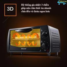 Giá Lò nướng điện mini 9 lít 2 tầng gia nhiệt 3 chiều Kesun TO-092
