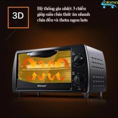 Lò nướng điện mini 9 lít 2 tầng Kesun TO-092 gia nhiệt 3 chiều cao cấp