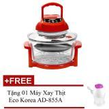 Giá Bán Lo Nướng Thủy Tinh Luckyhome Lk 2344Ks 12L Đỏ Tặng 01 May Xay Thịt Eco Korea Ad 855A Luckyhome Tốt Nhất