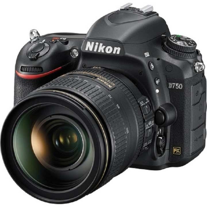 Máy ảnh Nikon D750 với Lens kit 24-120 VR (Đen)