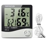 Máy đo Nhiệt độ Độ ẩm không khí trong phòng HTC - 2 ( trắng)