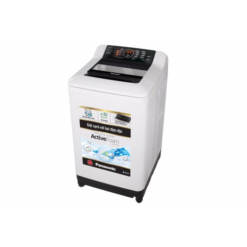 Bảng giá Máy giặt lồng đứng Panasonic NA-F100A4GRV (Trắng đen) Điện máy Pico