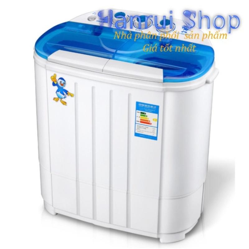 Máy giặt mini 2 lồng giặt kiêm chế độ vắt nhanh cho bé