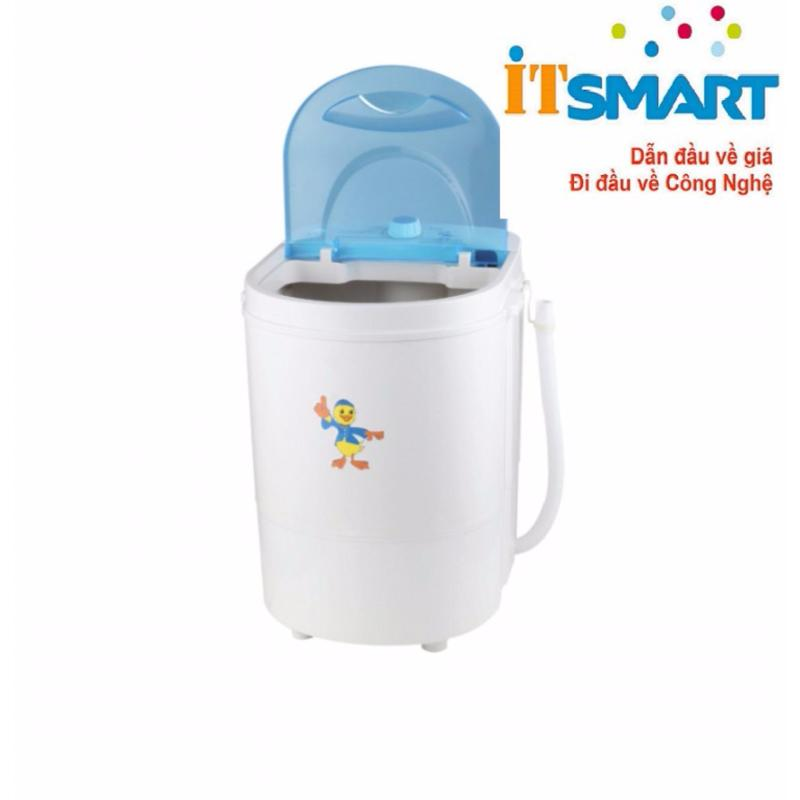 Máy giặt mini vớ, tả, quần áo trẻ em tiện lợi 4Kg (Trắng)