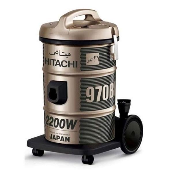 [Trả góp 0%]Máy hút bụi Công nghiệp Hitachi CV970Y (Vàng đồng)