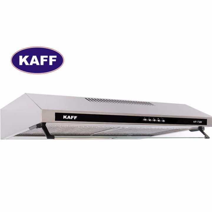 Máy hút khói khử mùi bếp 6 tấc inox KAFF KF-638i