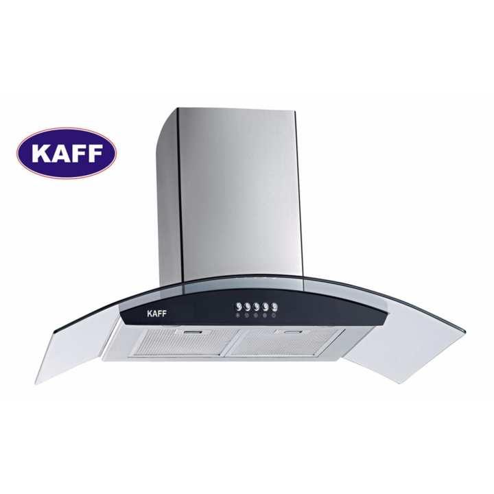Máy hút khói khử mùi kính cong 7 tấc KAFF KF-GB706
