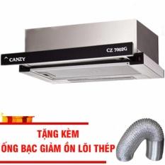 Ôn Tập May Hut Mui Am Tủ Canzy 7002G Mặt Kinh Tặng Ống Bạc Loi Thep Giảm Ồn Trong Hà Nội